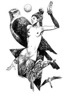 sergio toppi #comics author #drawing Italian school (1932-2012)