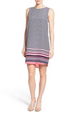 Halogen® Sleeveless Shift Dress (Regular & Petite)