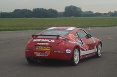Co-drive Nissan Experience 7-9-13 at Airport Valkenburg
