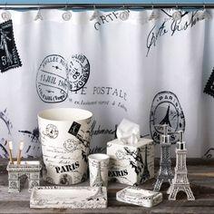 paris shower curtains - Google Search