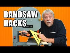 Five Band Saw Tips and Tricks. Woodworking Tools, Woodworking School, Popular Woodworking, Diy Bandsaw, Bandsaw Projects, Bandsaw Box, Quality Furniture, Furniture Deals, Diy Furniture