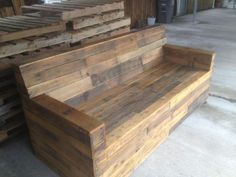wooden sofa structure