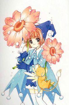 Sakura duendecilla, uno de las decenas de trajes que le fabrica su amiga Tomoyo…