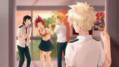 Boku no Hero Academia || #mha daily lives of high school boys