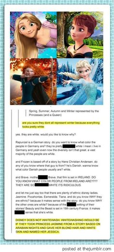 tum The truth about the skin color of Disney Princesses