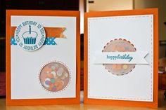 confetti birthday cards | Christine Newman aka ListGirl for Write.Click.Scrapbook.