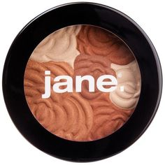 Jane Cosmetics Multi-Colored Bronzing Powder (Golden/Natural) ($12) ❤ liked on Polyvore featuring beauty products, makeup, cheek makeup, cheek bronzer, bronzer powder, mac bronzing powder and military fashion