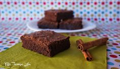 Brownie de chocolate y canela