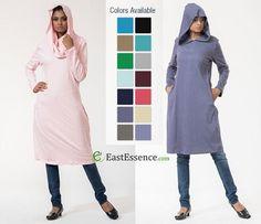 https://flic.kr/p/KmvSMQ | Hooded Cotton Tunics- EastEssence | Hot at EastEssence! Cotton Hooded Tunics for Women. Perfect…