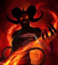 New Demigod: Lucifer The Fallen Angel (General) Fire Demon, Fanart, Deal With The Devil, High Priest, Angels And Demons, Hades, Occult, Dark Art, Vampire Diaries