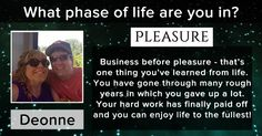 What phase of life are you in?