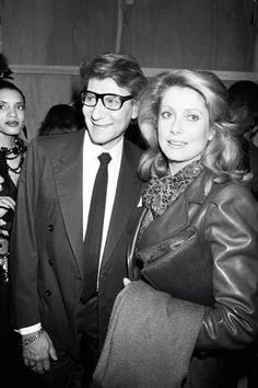 Through the parade of lovers, Yves Saint Laurent was arguably the most important man in Deneuve's life. After the friends and collaborators worked together on Belle de Jour, Saint Laurent would go on to costume Deneuve for films including La Chamade (1968), Mississippi Mermaid (1969), and Liza (1972).