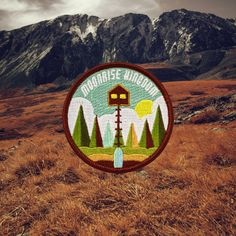 Moonrise Kingdom is one of my favorite Wes Anderson movies...if you can even pick a favorite, haha. I wanted to design and create a patch for