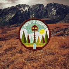 Moonrise Kingdom (Wes Anderson) Patch (U.S. de envío gratis)
