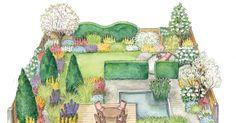 Wer tief in die Trickkiste greift, kann auch auf einem kleinen Grundstück einen schönen Garten gestalten. Hier erklären wir Ihnen die wichtigsten Gestaltungstricks.