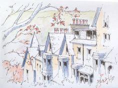 Ilkley ~ sketch ~ John Edwards