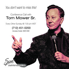 Join Tom Mower Sr. on Sundays! http://blog.siselinternational.com/join-tom-mower-sr-sundays/