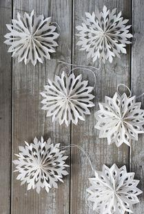 Winter crafts throwback: Paper Snowflakes. #DIY
