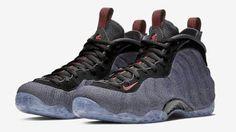 b83fcb20075 Nike Air Foamposite One Denim Water Resistant Sneaker if you are looking  (Detailed Look)