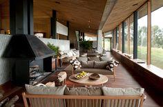 Hotel Refugia - Chiloe, Chile Set against the... | Luxury Accommodations