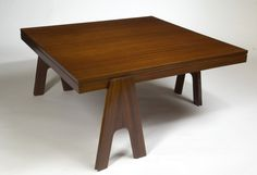 Angelo Mangiarotti Coffee Table, 1950s   From a unique collection of antique and modern coffee and cocktail tables at https://www.1stdibs.com/furniture/tables/coffee-tables-cocktail-tables/