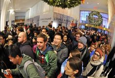 Shoppers hit the stores for Black Friday deals
