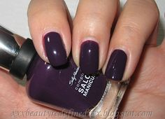 Sally Hansen Complete Salon Manicure, Plum Luck