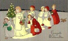 P.Ebner vintage card