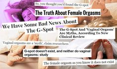 """She got FIRED UP about the latest """"study"""" """"proving"""" that the G-spot is a """"myth."""" So she wrote about how to decipher the lazy reporting that is rampant every time something like this happens."""