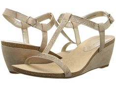 Anne Klein Anne Klein  Jovial Natural Fabric Womens Wedge Shoes for 34.99 at Im in!