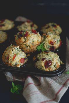 Sundried Tomato & Zucchini Muffins / The Gluten Free Scallywag