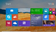 The Start screen and desktop are still two totally different environments in Windows 8.1, but at least you can make them look the same. Read this article by Lance Whitney on CNET News. via @CNET