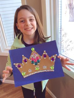 100 Days of school ideas. 100 jewels on a crown.