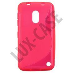 S-Line Transparent (Sterk Rosa) Nokia Lumia 620 Deksel