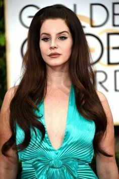 Lana Del Rey at Golden globe awards 2015
