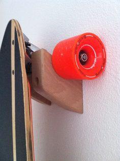Wallmount longboard