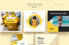 Yellow Autumn Social Media Designs - Instagram - 2