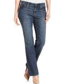 DKNY Jeans Soho Bootcut-Leg Jeans, Chelsea Wash - Jeans - Women - Macy's