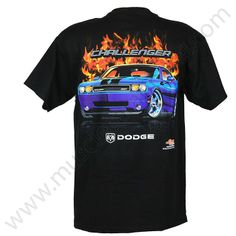 Dodge Challenger T Shirt for Men - Screen print $19.95