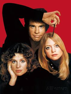 "Warren Beatty, Julie Christie and Goldie Hawn ~ Photoshoot for ""Shampoo"" (1975)"