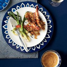 Grilled Jumbo Shrimp with Kimchi-Miso Butter