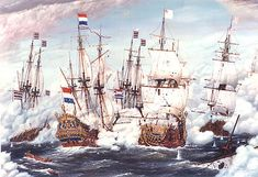 Anglo Dutch Wars, Dutch People, Uk History, Tall Ships, Netherlands, Holland, Sailing, Medieval, Germany