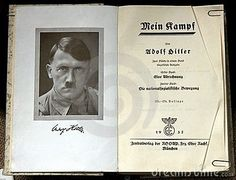 Nazi Propoganda- From the publication of Mein Kampf in 1925 and especially during Hitler's time in power, the book was incredibly successful, and 10 million copies had been produced by the end of the war. However, not everyone was enthused. One of Hitler's closest foreign political allies, Benito Mussolini, described it as 'a boring tome that I have never been able to read.'