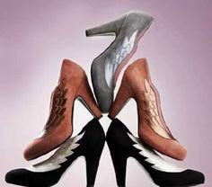 Minna Parikka wing shoes