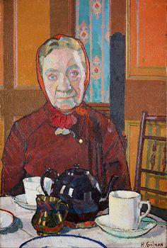 .:. Harold Gilman - Mrs Mounter