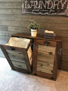 Free Ship, Laundry hamper, tilt out laundry hamper, wood laundry hamper,(D-LAU-PROV-C) Wood Hamper, Tilt Out Laundry Hamper, Laundry Hamper Cabinet, Laundry Cabinets, Laundry Bin, Laundry Room, Birch Cabinets, Best Cleaning Products, Trash Bins