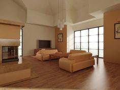 http://www.abrys.net/projektowanie-wnetrz/ - więcej tych urzekających fotek wnętrz. Ten salon sprawia, że od razu człowiek się rozleniwia ;)