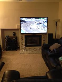 158 Best Tv Above The Fireplace Images Tv On Wall Wall
