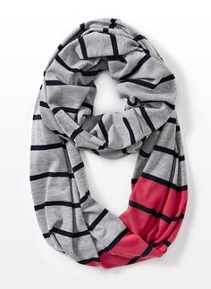 Striped Eternity Scarf - Scarves & Hats - Garage