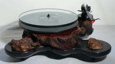 Audiowood Turntable Diy Turntable, Make Design, Dog Bowls, Luxury Branding, Gadgets, Gadget